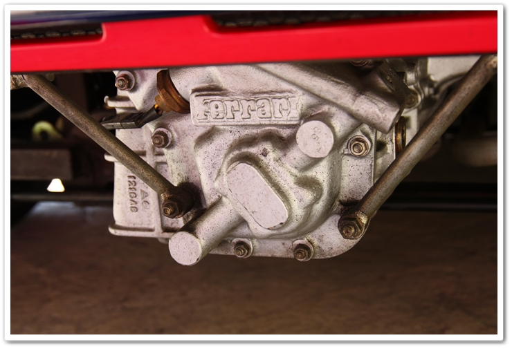 Ferrari 288 GTO gear box