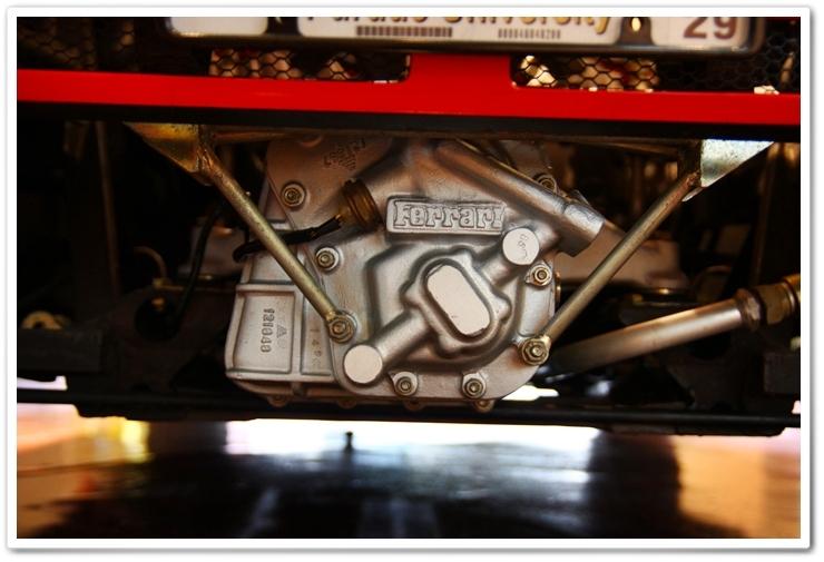 1985 Ferrari 288 GTO gear box after detail
