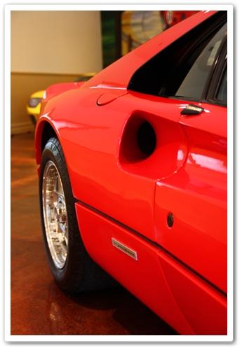 1985 Ferrari 288 GTO back passenger view