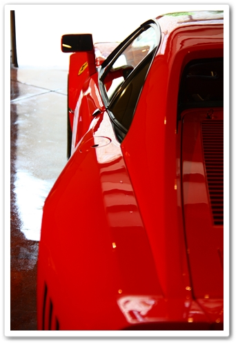 1985 Ferrari 288 GTO back driverside view