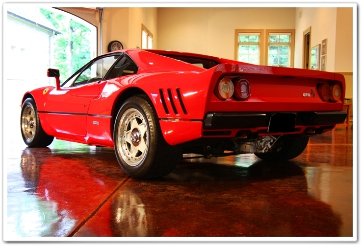 1985 Ferrari 288 GTO full back view