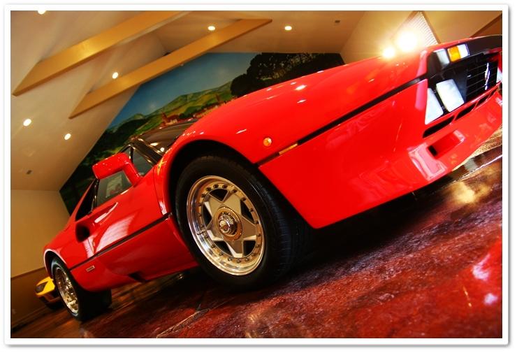 1985 Ferrari 288 GTO front floor view