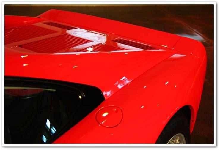 1985 Ferrari 288 GTO overhead top view
