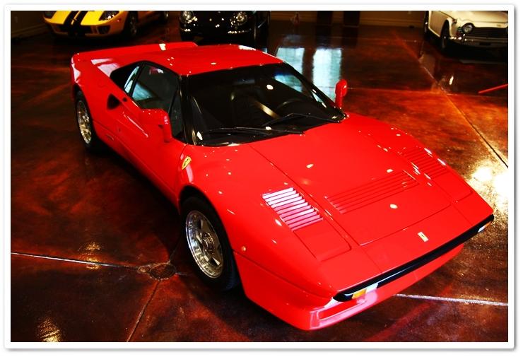 1985 Ferrari 288 GTO overhead view