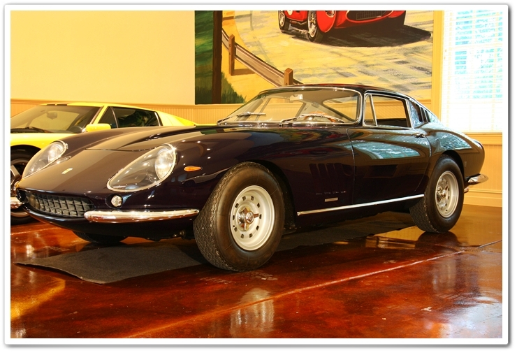 Black 1967 Ferrari GTB/4