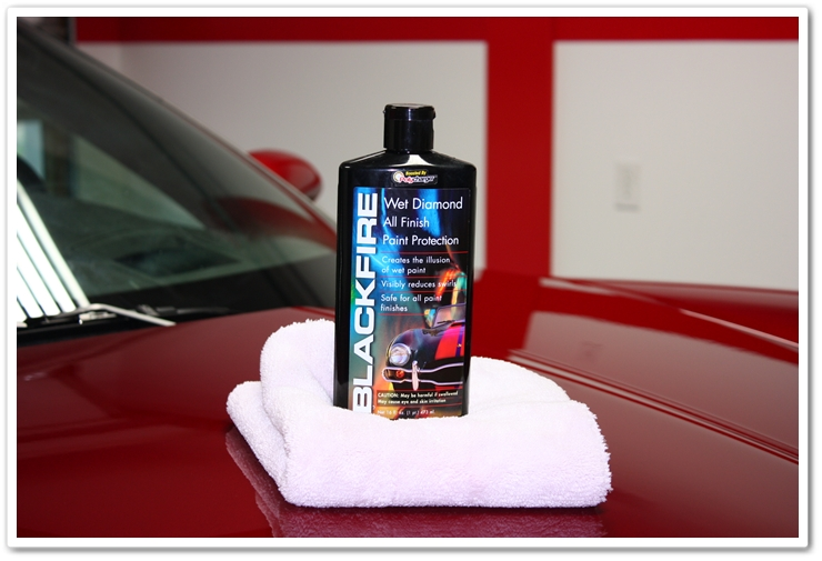 Blackfire Wet Diamond All Finish Paint Protection boosted by Polycharger
