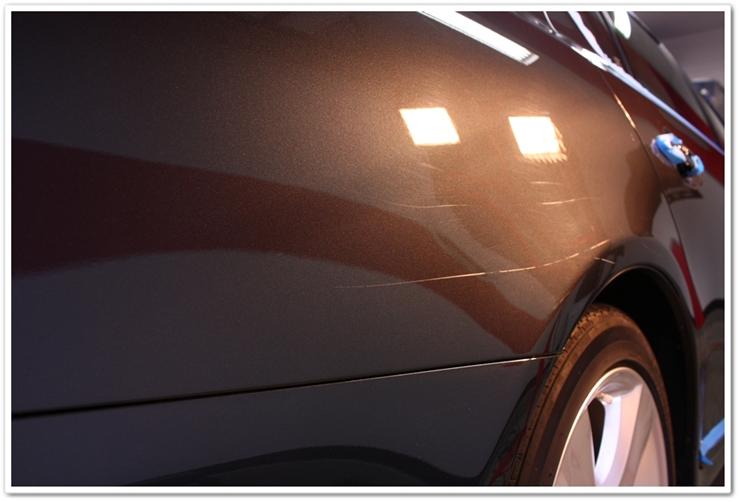 2008 Lexus LS460L scratched paint