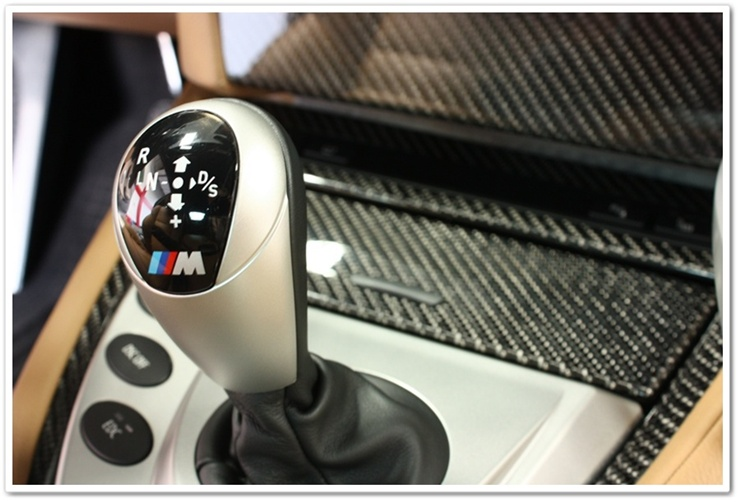 BMW M shift knob all cleaned up