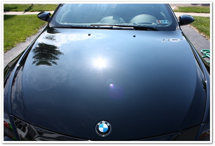 2008 BMW M6 black sapphire paint after Esoteric Auto Detail