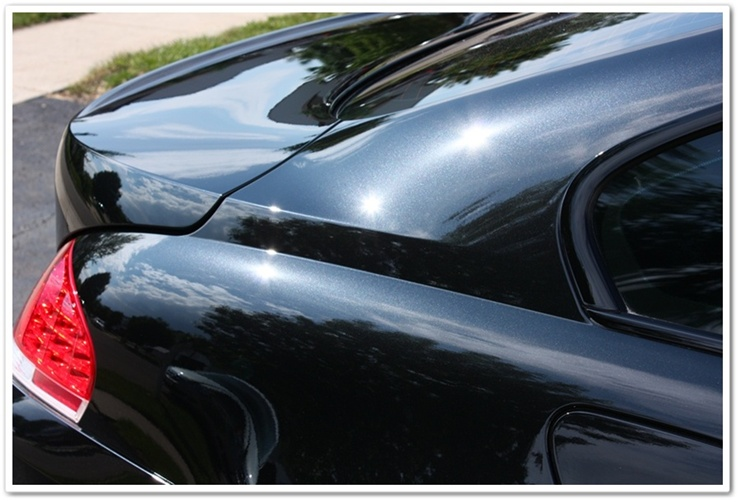 2008 BMW M6 black sapphire paint after Esoteric detail