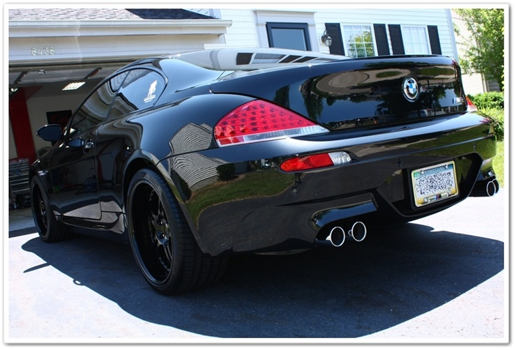 2008 BMW M6 black sapphire metallic detailed by Esoteric Auto Detail