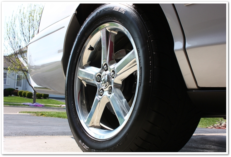 2004 Mercury Marauder wheel detailed by Esoteric Detail