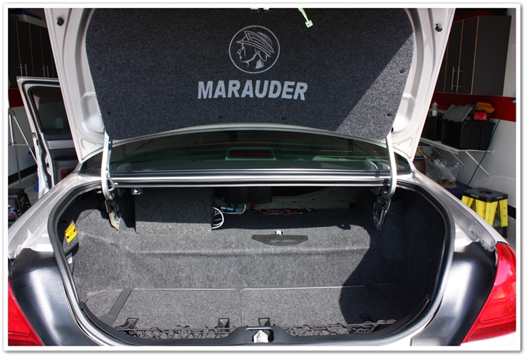 2004 Mercury Marauder trunk detailed