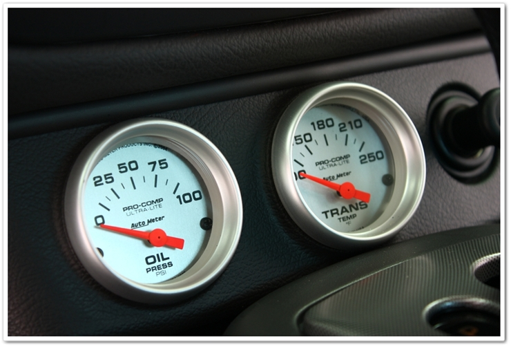 452hp 2004 Mercury Marauder interior gauges