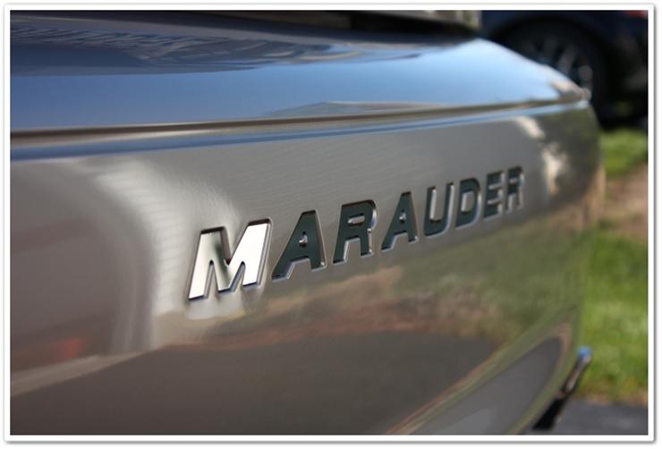 2004 Mercury Marauder bumber