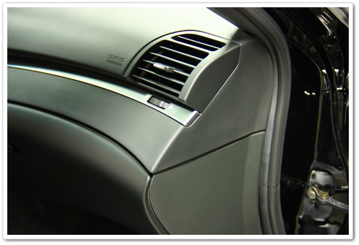 Optimum Protectant Plus applied to the interior of an Acura TL