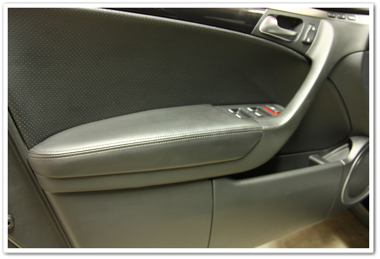 Door panel protected with Optimum Protectant Plus