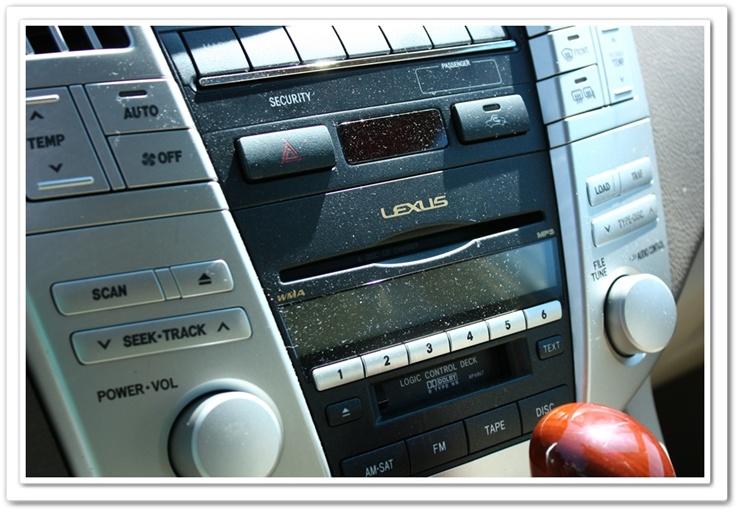 Dusyt Lexus RX350 interior