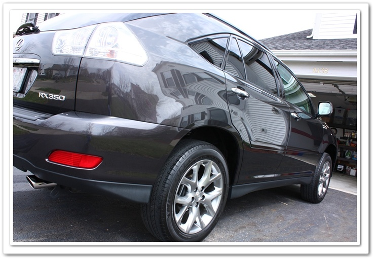2008 Lexus RX350 Pebble Beach Edition after an Estoeric detail