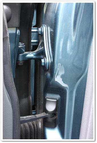 Door shuts of Mercedes SL500