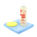 Collinite 845 Wax, DI Microfiber All Purpose Towel, and Yellow Foam Applicator Pad