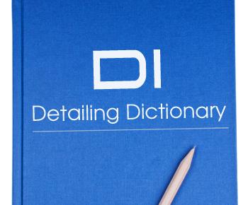 DI Detailing Dictionary