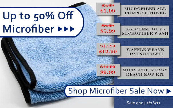 Microfiber Sale Up To 50% Off