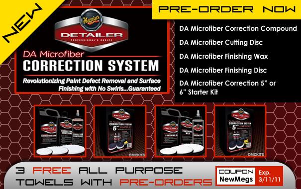 New Meguiar's DA Microfiber Correction System