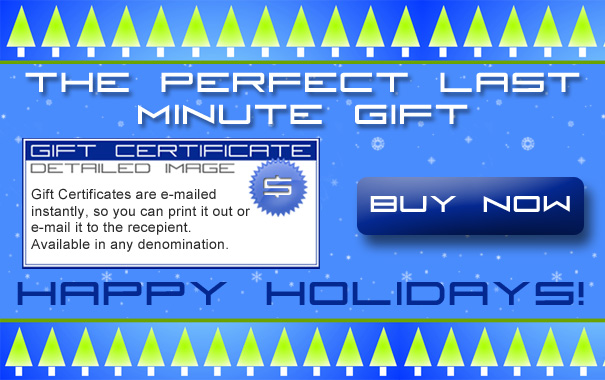 The Perfect Last Minute Gift: Detailed Image Gift Certificates