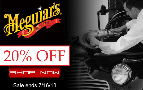 20% Off Meguiar's