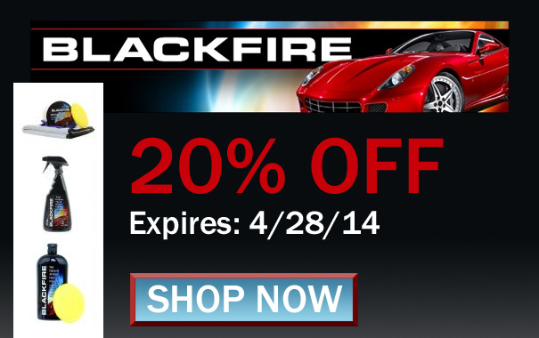20% Off Blackfire Car Care Products