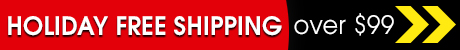 Holiday Free Shipping Over $99 - details