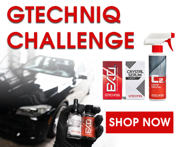 Gtechniq Challenge - Shop Now