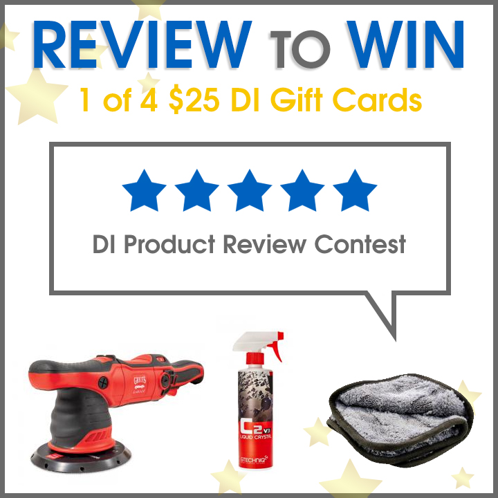 Review to Win 1 of 4 $25 DI Gift Cards - Product Review Contest