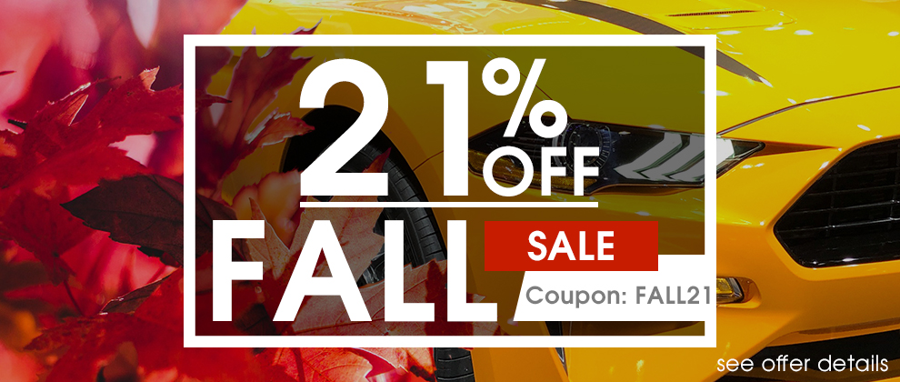 21% Off Fall Sale - Coupon Fall21 - Shop Now