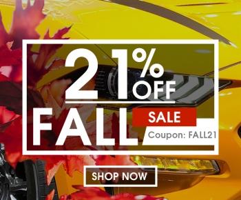 21 Off Fall Sale