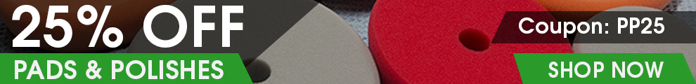 25% Off Pads & Polishes - Coupon PP25 - Shop Now