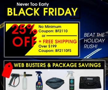 Never Too Early Black Friday Sale