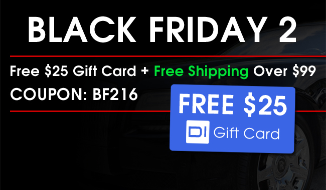 Black Friday 2: Free $25 Gift Card + Free Shipping Over $99 - Coupon: BF216