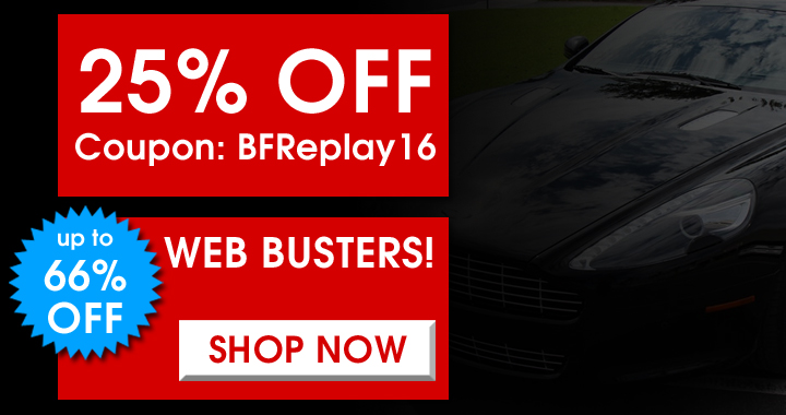 25% Off Coupon BFReplay16 - Up To 66% Off Web Busters - Shop Now