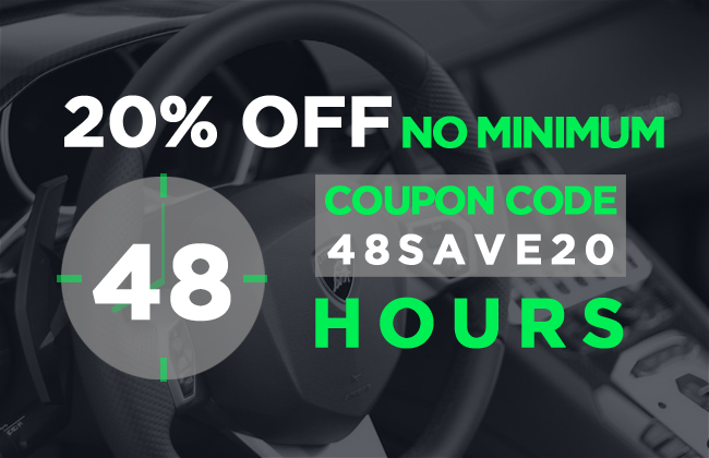 20% Off No Minimum - Coupon Code 48Save20 - 48 Hours Only