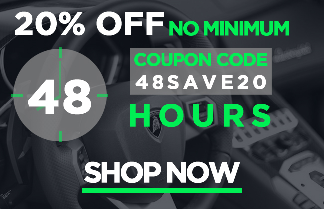 20% Off Flash Sale! 48 Hours Only!