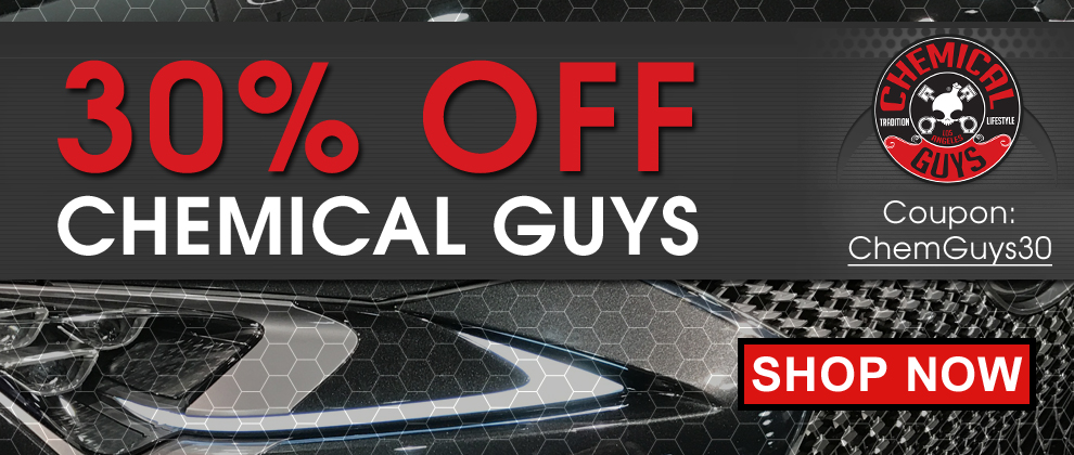 30% Off Chemical Guys! Coupon: ChemGuys31 - Shop Now