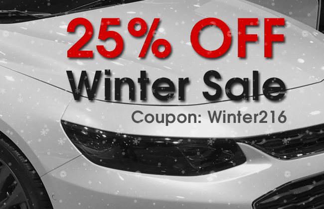 25% Off Winter Sale! Coupon: Winter216