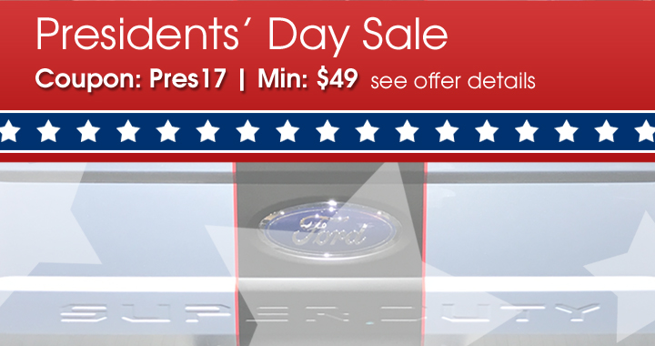 Coupon: Pres17 - Min: $49 - see offer details