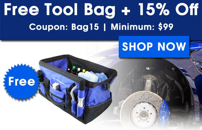 Free Tool Bag + 15% Off!