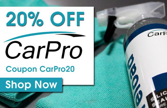 20% Off CarPro! Coupon CarPro20 - Shop Now