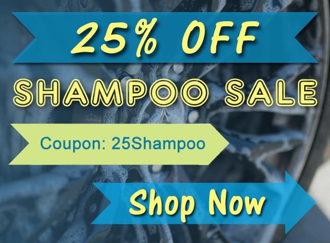 25% Off Shampoo Sale