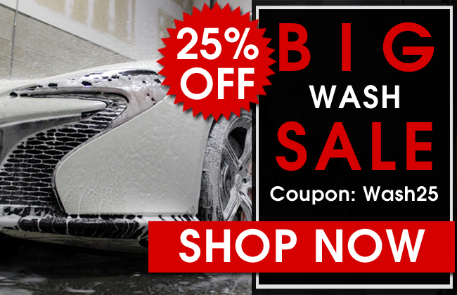 25% Off! Big Wash Sale! Coupon: Wash25 - Shop now