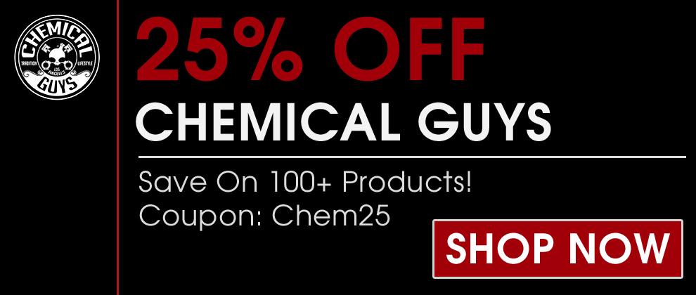 Chemical guys coupon code